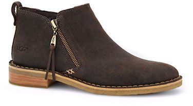 UGG Ugg Clementine Sheepskin Leather Ankle Boots