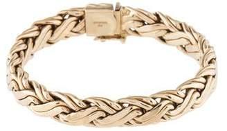 Tiffany & Co. 14K Wheat Chain Bracelet