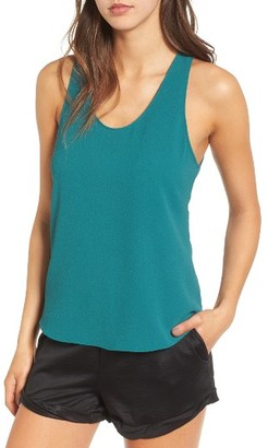 Women's Leith Drape Back Tank $55 thestylecure.com