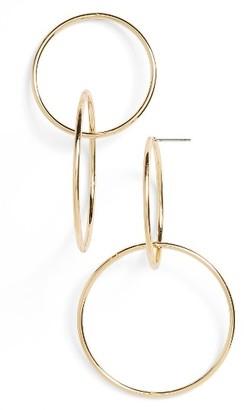 Women's Bp. Interlocking Hoop Earrings $12 thestylecure.com