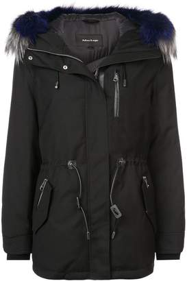 Mackage fur hooded jacket