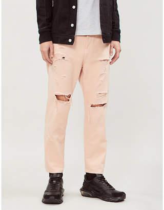 ca115d32 Orange Men's Distressed Jeans - ShopStyle