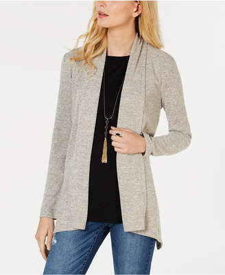 INC International Concepts I.n.c. Shawl-Collar Duster Sweater