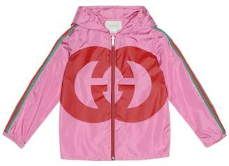 Gucci Kids GG hooded jacket