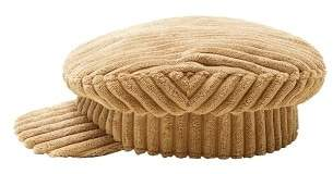 MANGO Corduroy baker boy hat