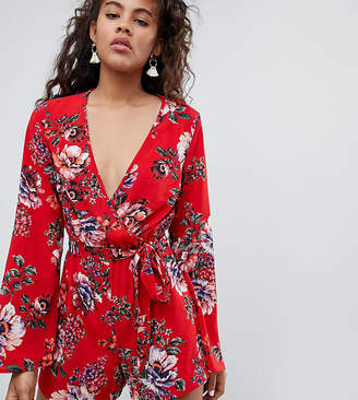 New Look Tall Floral Romper