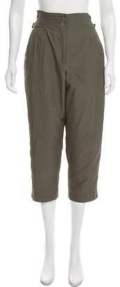 Organic by John Patrick High-Rise Cropped Pants