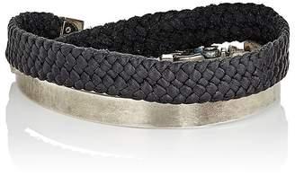 Title of Work Men's Bit Cuff Bracelet