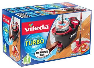 Vileda EasyWring & Clean Turbo Spin Mop and Bucket Set