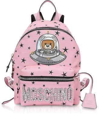 Moschino Pink Space Teddy Bear Backpack