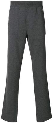 Z Zegna elasticated waist logo trousers