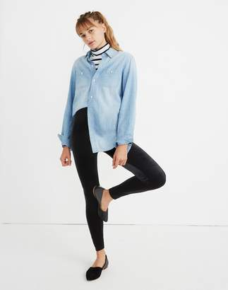 Madewell High-Rise Velvet Leggings