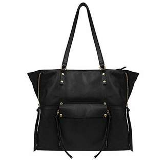 Kooba Leather Tote - Front Pocket with Magnetic Closure