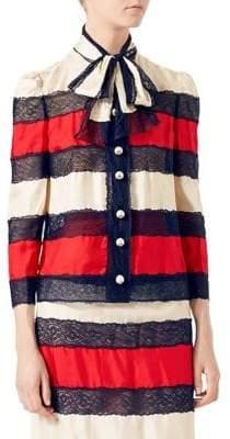 Gucci Silk Twill Jacket