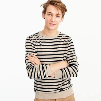 J.Crew Everyday cashmere crewneck sweater in stripe