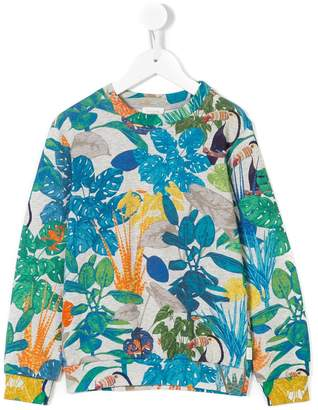 Paul Smith jungle print sweatshirt