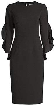 Milly Women's Italian Cady Katia Sheath Dress - Size 0