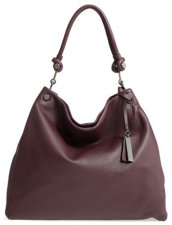 Vince Camuto 'Ruell' Hobo - Burgundy