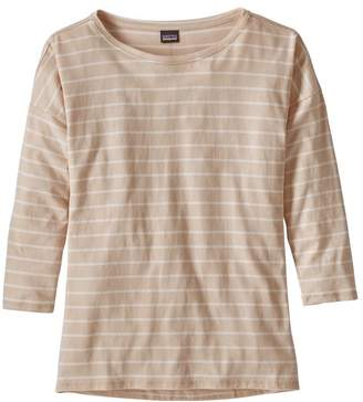 Patagonia Women's Shallow Seas 3/4-Sleeved Top