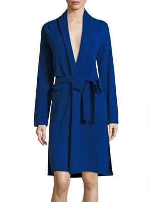 Sofia Cashmere Cashmere Jersey Robe