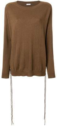 P.A.R.O.S.H. lace-up detail jumper