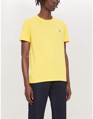 Polo Ralph Lauren Logo-embroidered cotton-jersey T-shirt