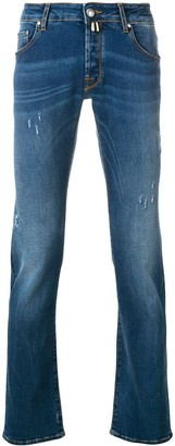 Jacob Cohen distressed detailed jeans