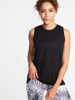 Old Navy Relaxed Mesh-Back Fly-Away Tank for Women