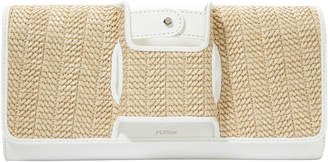 Perrin La Capitale Glove Small Raffia Clutch