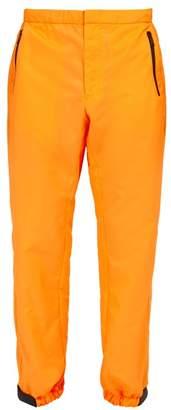 Prada Tela Technical Track Pants - Mens - Orange