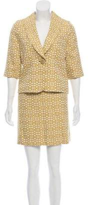Milly Mini Skirt Suit Set