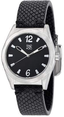 Uno de 50 Women's Like a Watch Quartz Leather Strap Watch