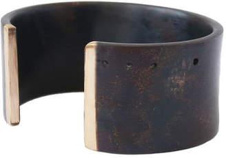 Marmol Radziner Wide Solid Bronze or Brass Cuff