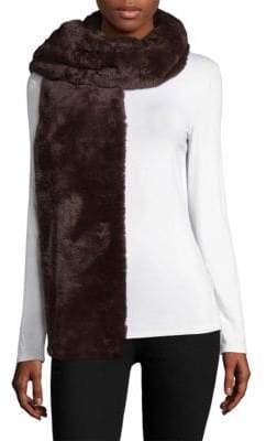 Donni Charm Women's Faux Fur Fierce Scarf - Choc Charc