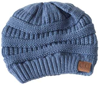 C.C. Denim Knit Beanie