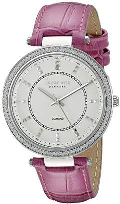 Johan Eric Women's JE1000B-04-001.8 Ballerup Analog Display Quartz Pink Watch
