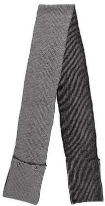 MICHAEL Michael Kors Rib Knit Embellished Scarf