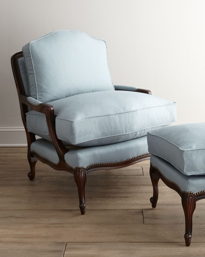 Old Hickory Tannery Ellsworth Bergere Chair