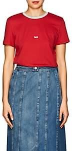 "Helmut Lang Women's ""Taxi"" Cotton T-Shirt - Red"