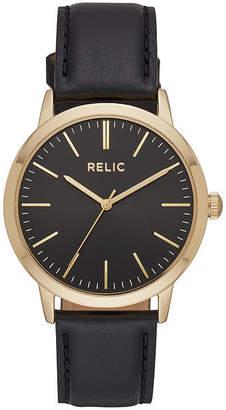 RELIC Relic Mens Black Bracelet Watch-Zr77299