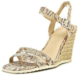 Franco Sarto Women's Nyala2 Wedge Sandal, Tan, Size 9.0