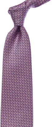 Ermenegildo Zegna Pink Fantasy Silk Tie