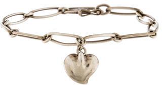 Tiffany & Co. Heart Charm Bracelet $125 thestylecure.com