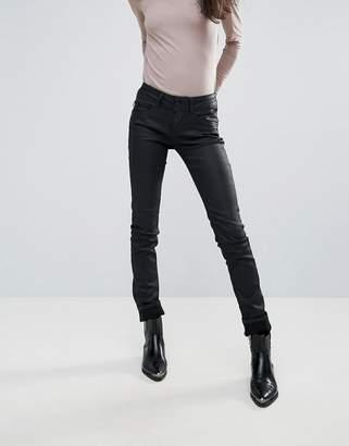 Pepe Jeans New Brooke Waxed Skinny Jeans