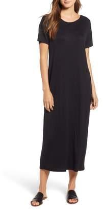 Bobeau Cinched Back Maxi Dress