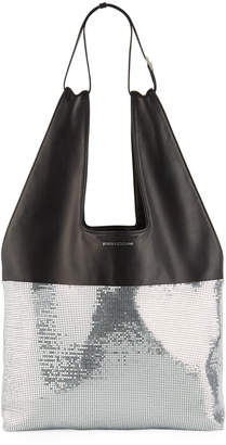 Paco Rabanne Mini Mesh Hobo Bag