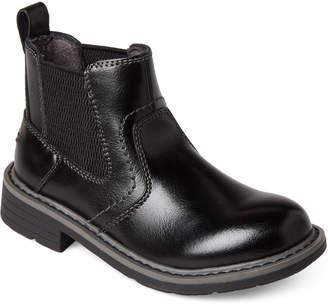 Florsheim Kids Boys) Black Studio Gr Leather Ankle Boots