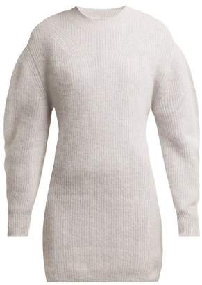Isabel Marant Sigrid Cashmere Knit Dress - Womens - Light Pink