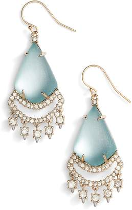 Alexis Bittar Crystal Lace Lucite(R) Chandelier Earrings