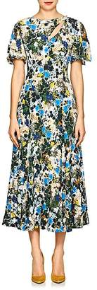 Erdem Women's Kathryn Floral Crepe Cocktail Dress